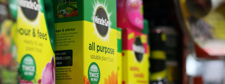 Brands: MiracleGro